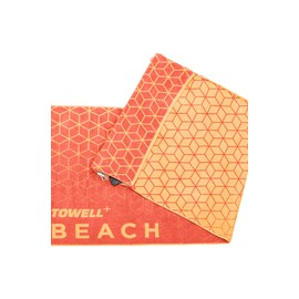 Stryve Towell+ Beach Sun Red
