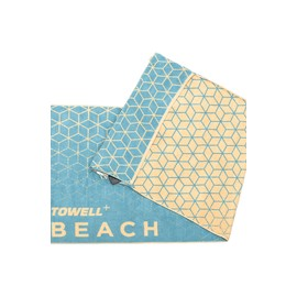 Stryve Towell+ Beach Sea Blue
